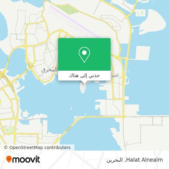 خريطة Halat Alneaim