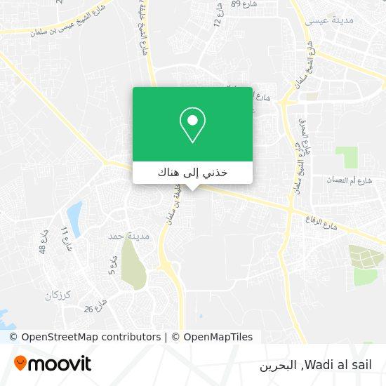 خريطة Wadi al sail