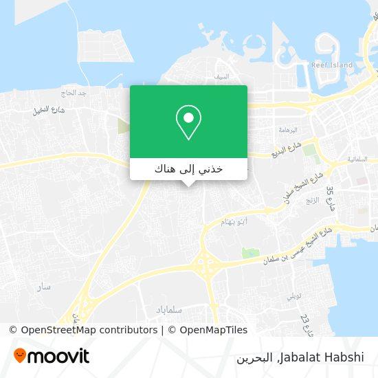 خريطة Jabalat Habshi