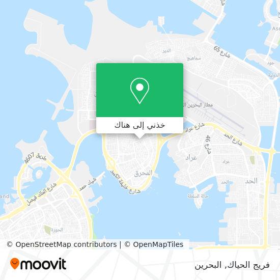خريطة فريج الحياك