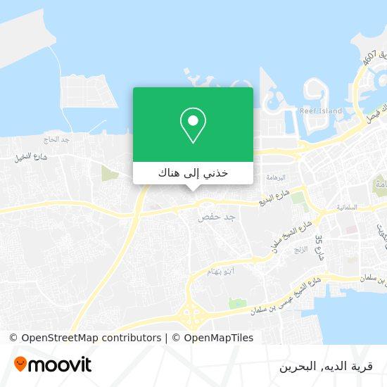 خريطة قرية الديه