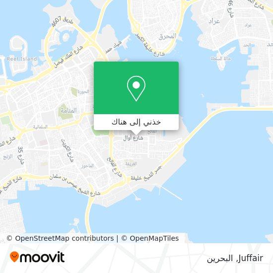 خريطة Juffair
