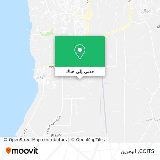 خريطة COITS