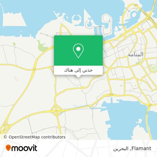 خريطة Flamant