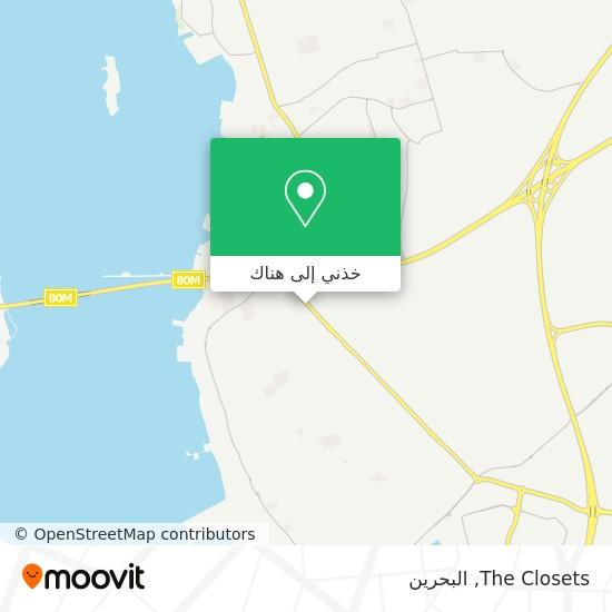 خريطة The Closets