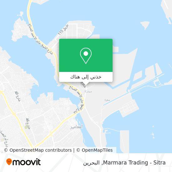 خريطة Marmara Trading - Sitra