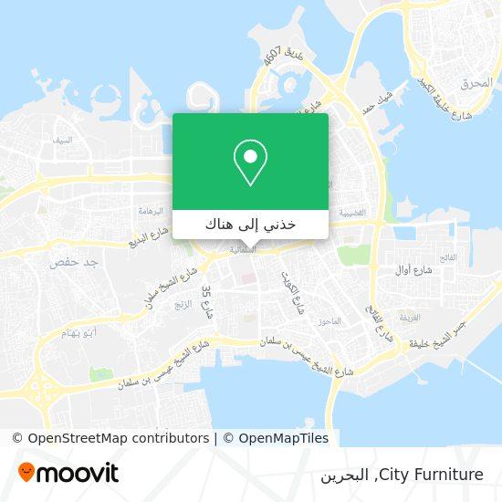 خريطة City Furniture