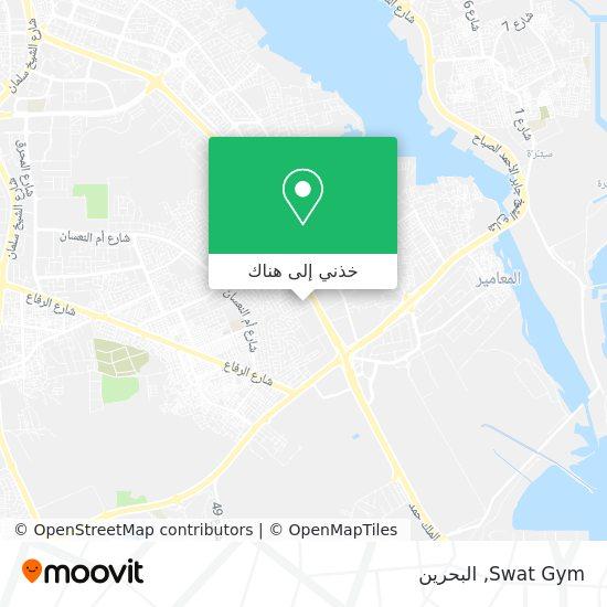 خريطة Swat Gym