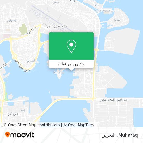 خريطة Muharaq