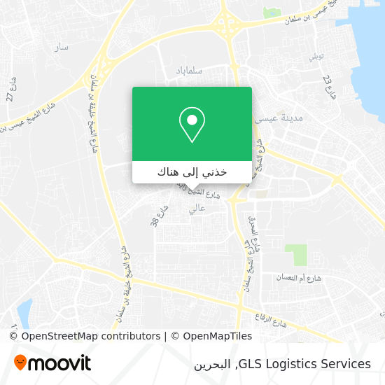 خريطة GLS Logistics Services