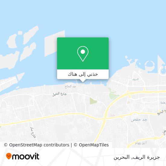 خريطة جزيرة الريف