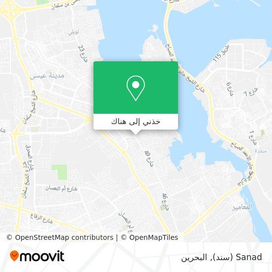 خريطة Sanad (سند)