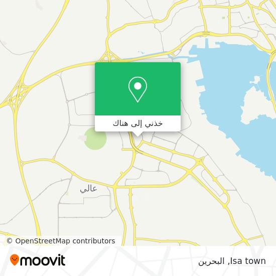 خريطة Isa town