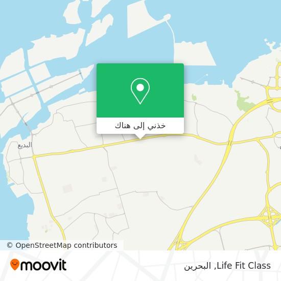 خريطة Life Fit Class