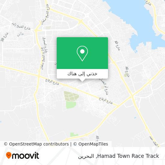 خريطة Hamad Town Race Track