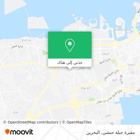 خريطة مقبرة جبلة حبشي