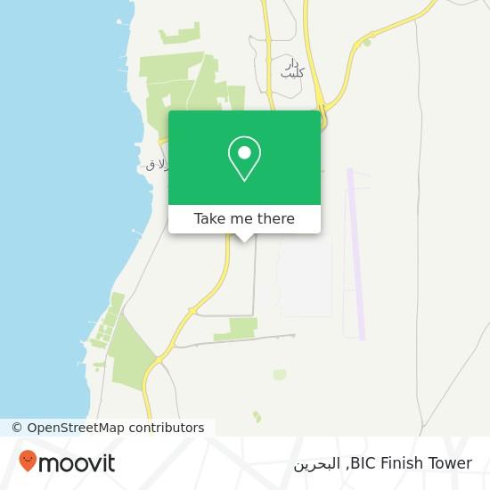 خريطة BIC Finish Tower