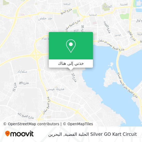 خريطة Silver GO Kart Circuit الحلبة الفضية