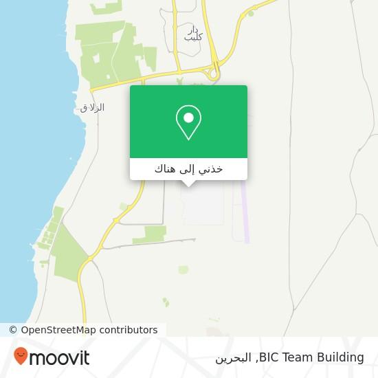 خريطة BIC Team Building