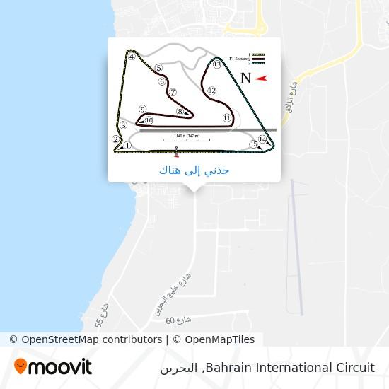 خريطة Bahrain International Circuit