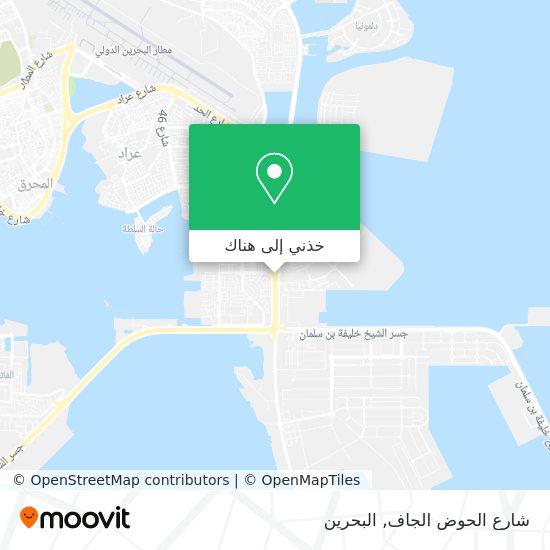 خريطة شارع الحوض الجاف