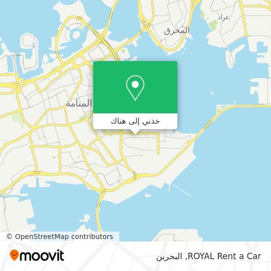 خريطة ROYAL Rent a Car