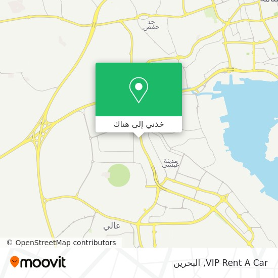 خريطة VIP Rent A Car