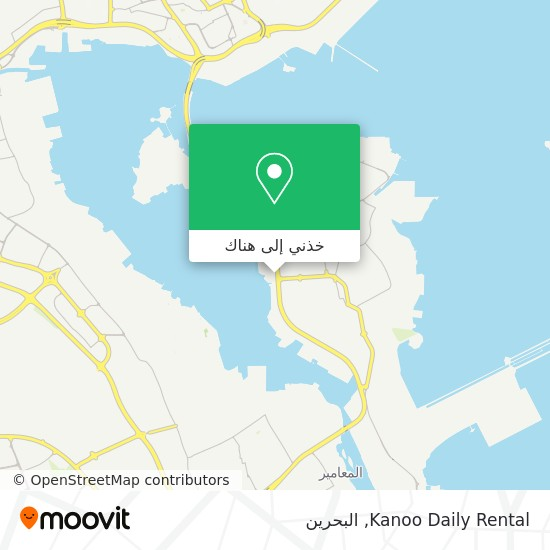 خريطة Kanoo Daily Rental
