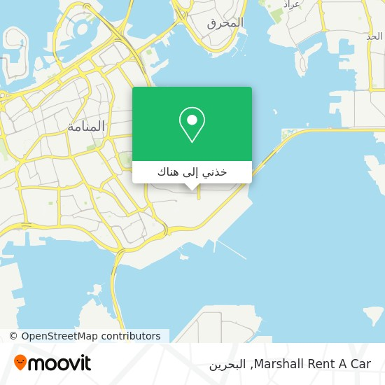 خريطة Marshall Rent A Car