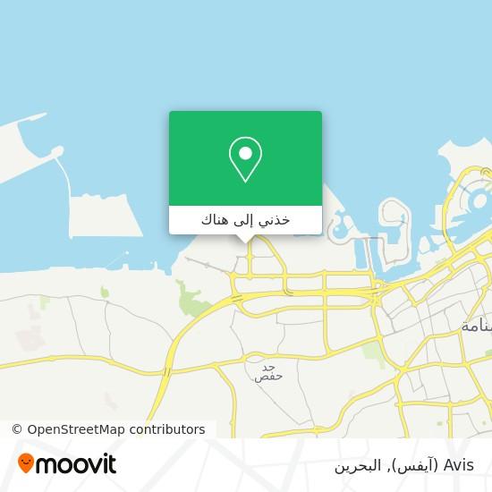 خريطة Avis (آيفس)