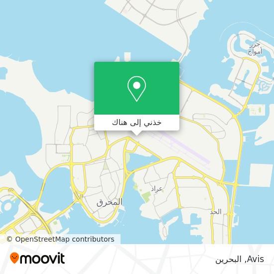 خريطة Avis