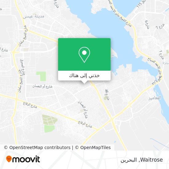 خريطة Waitrose