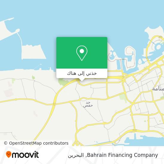 خريطة Bahrain Financing Company