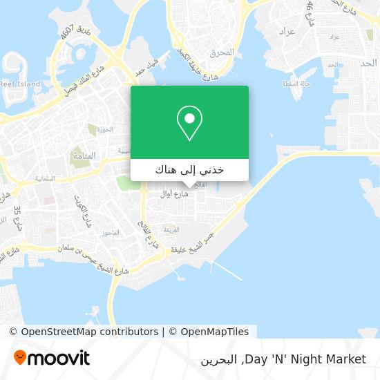 خريطة Day 'N' Night Market