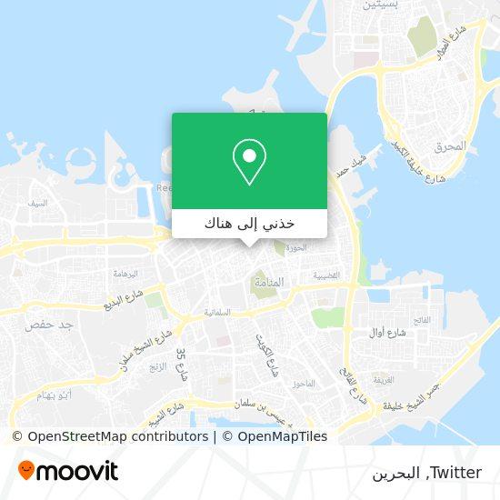 خريطة Twitter