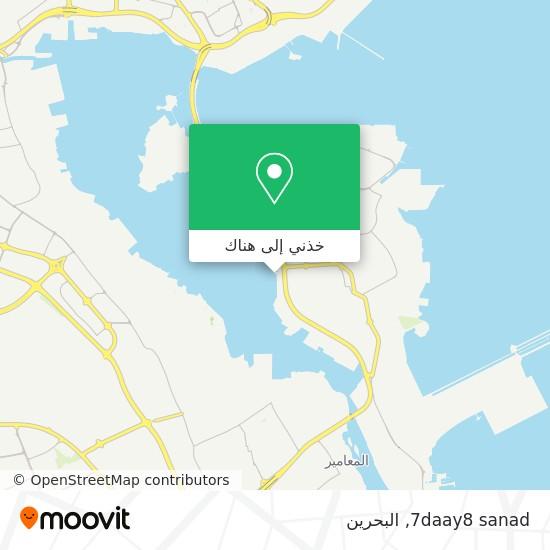 خريطة 7daay8 sanad