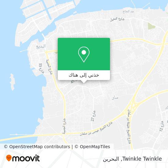 خريطة Twinkle Twinkle