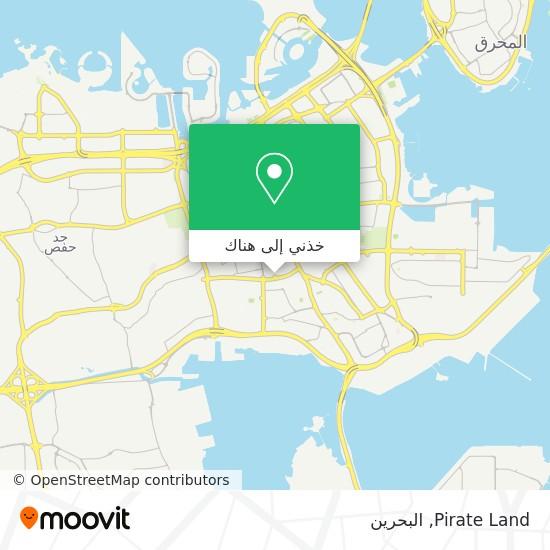 خريطة Pirate Land