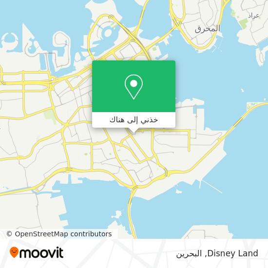 خريطة Disney Land