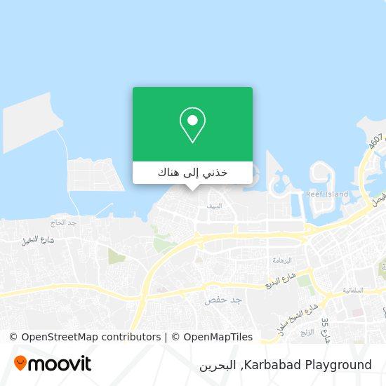خريطة Karbabad Playground