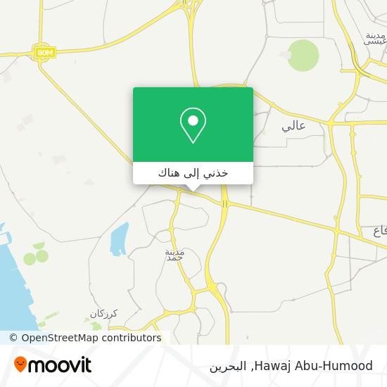 خريطة Hawaj Abu-Humood