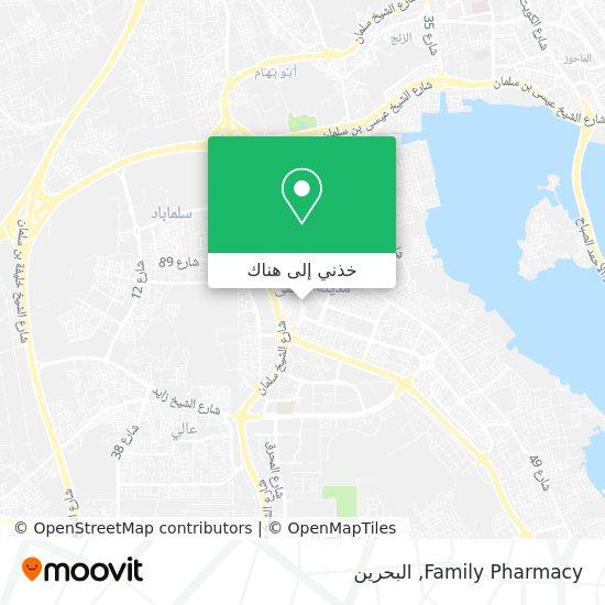 خريطة Family Pharmacy