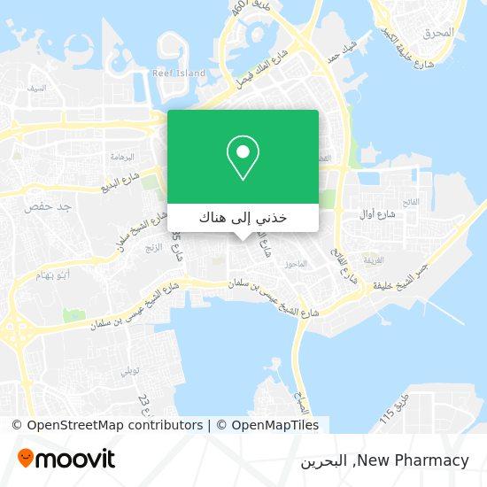 خريطة New Pharmacy