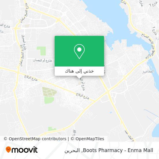 خريطة Boots Pharmacy - Enma Mall