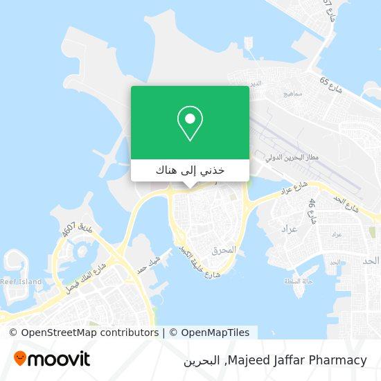 خريطة Majeed Jaffar Pharmacy