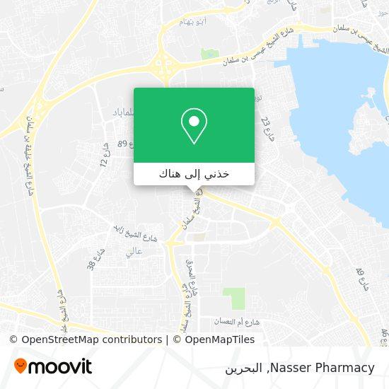 خريطة Nasser Pharmacy