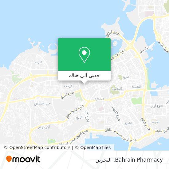 خريطة Bahrain Pharmacy