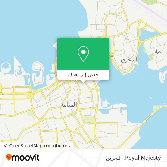 خريطة Royal Majesty