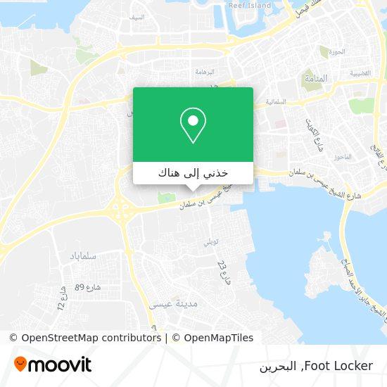 خريطة Foot Locker