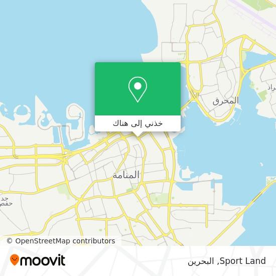 خريطة Sport Land